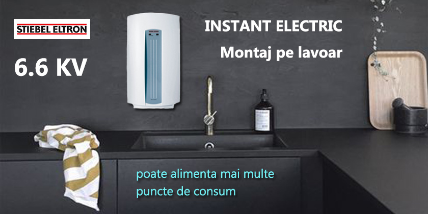 instant electric pe lavoar
