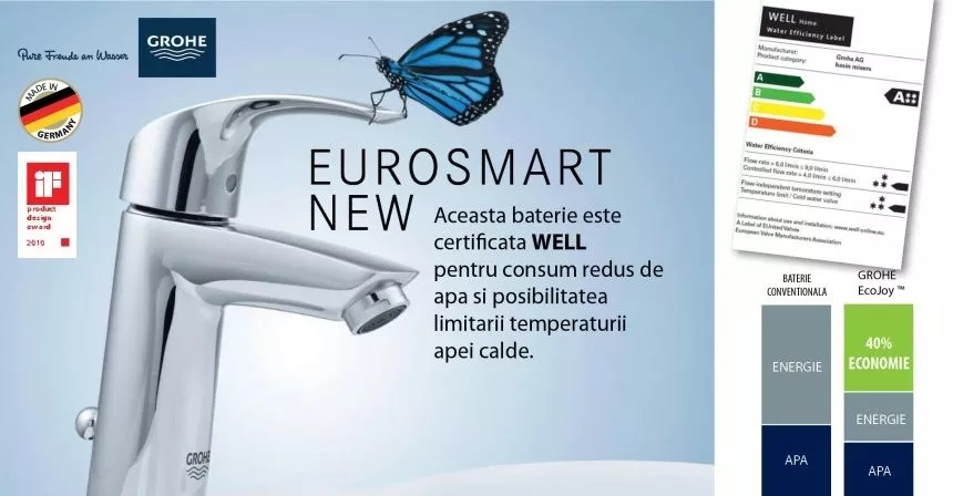baterie de baie eurosmart new